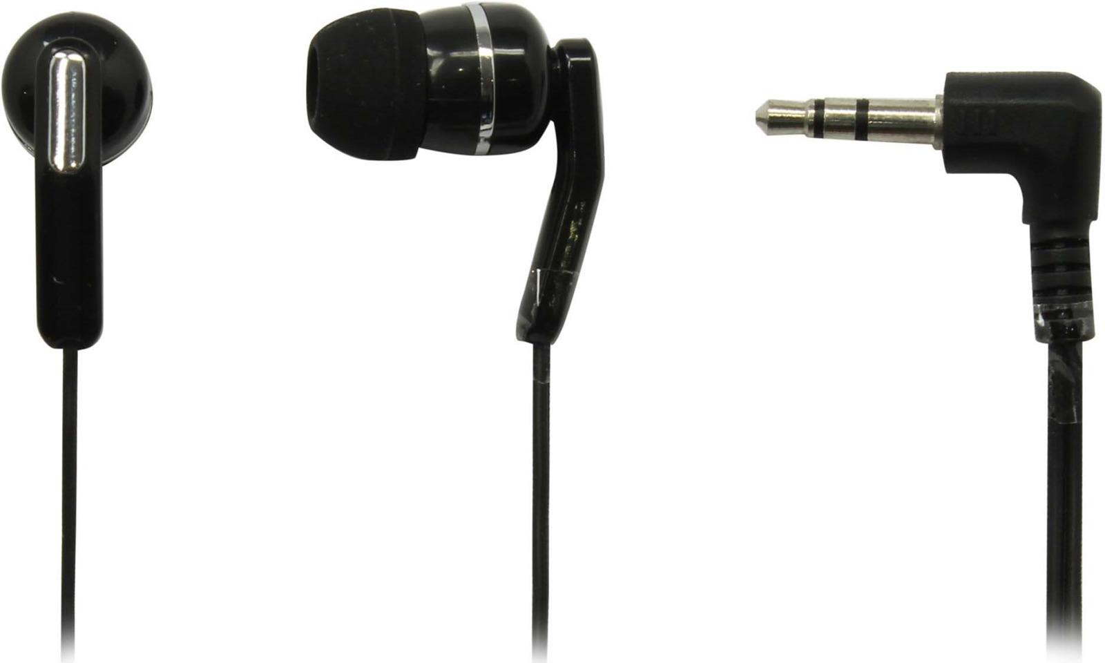 Стерео-наушники внутриканальные SmartBuy EGO II, SBE-1000, черный проводные наушники smartbuy one sbe 150 white