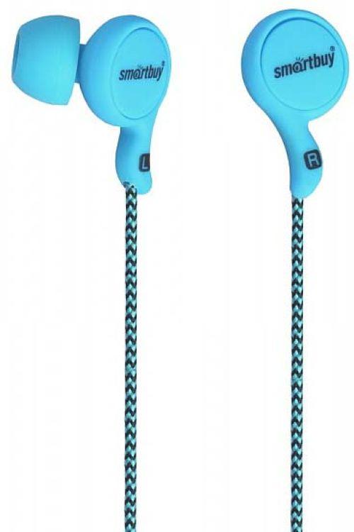 Наушники проводные пассивные SmartBuy Manga, SBE-1060, синий проводные наушники smartbuy one sbe 150 white