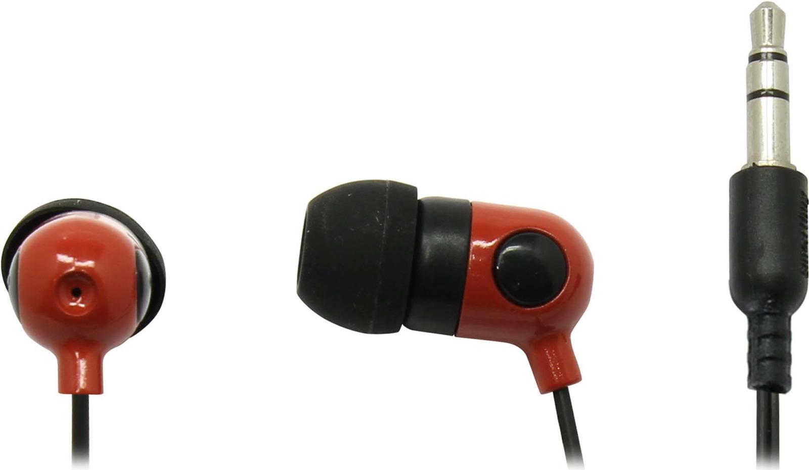 Наушники внутриканальные SmartBuy Music Point, SBE-2400, красный цена
