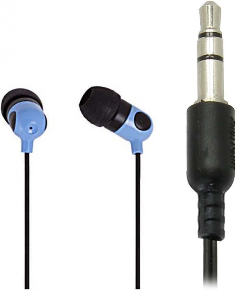 Наушники внутриканальные SmartBuy Music Point, SBE-2500, синий цена 2017