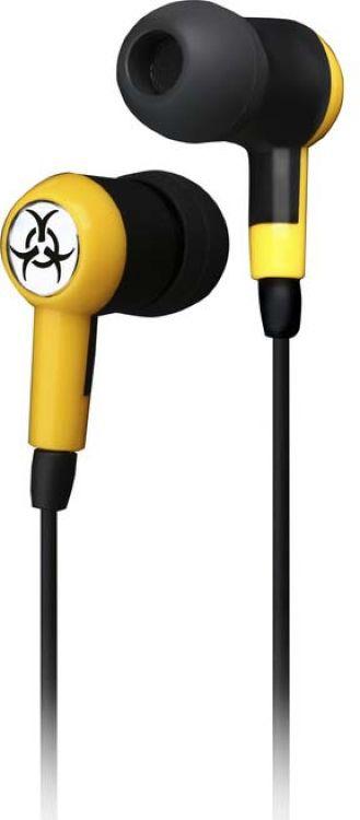 Наушники внутриканальные SmartBuy Toxic, SBE-2600, желтый цена