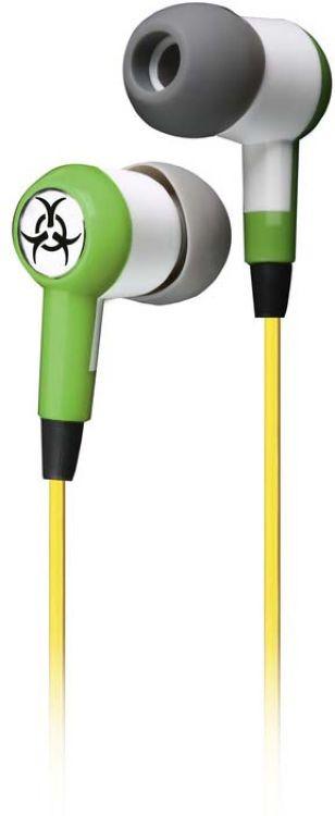 Наушники внутриканальные SmartBuy Toxic, SBE-2700, зеленый проводные наушники smartbuy one sbe 150 white