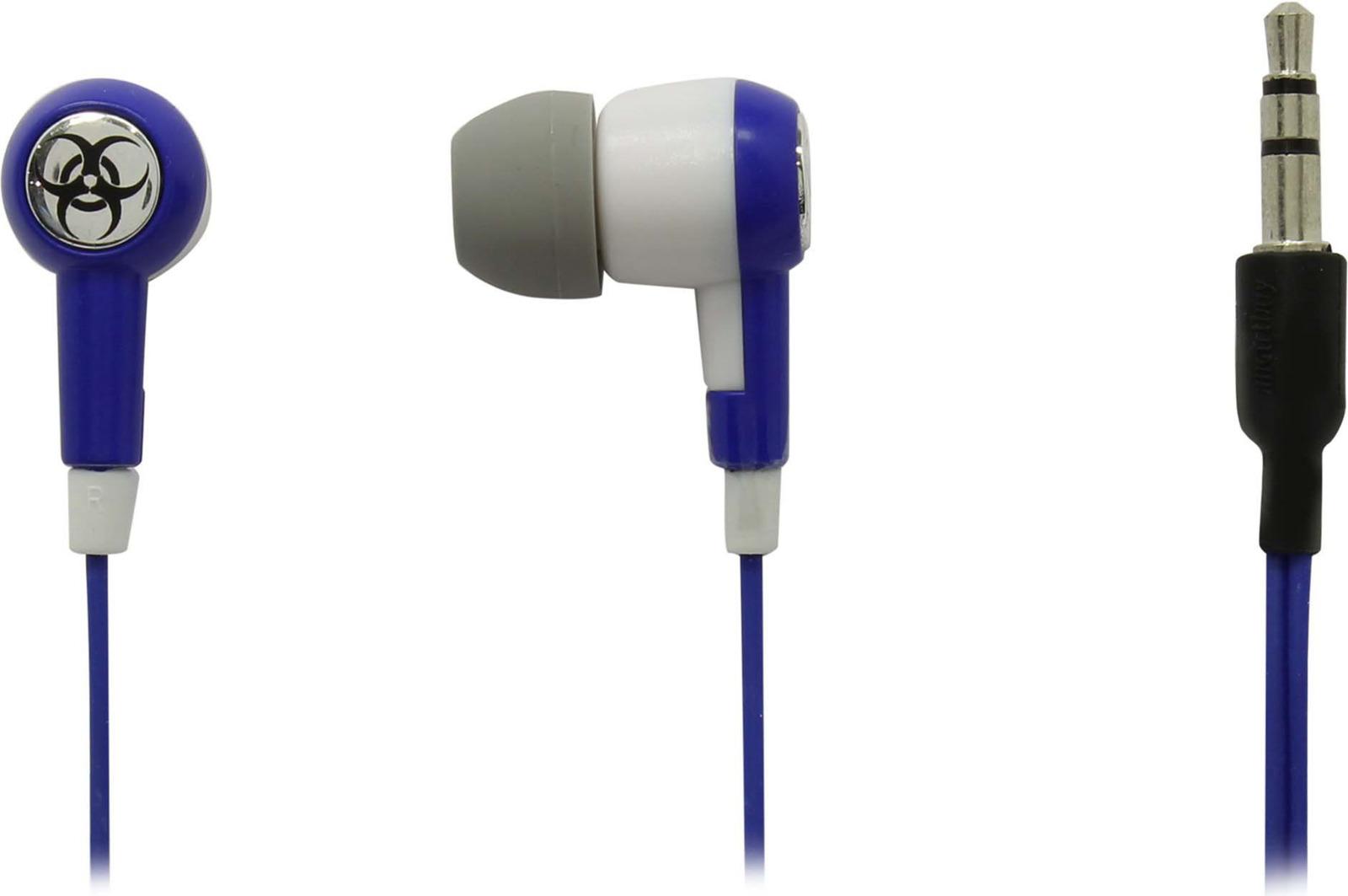 Наушники внутриканальные SmartBuy Toxic, SBE-2720, синий