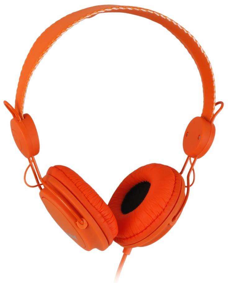 лучшая цена Наушники полноразмерные SmartBuy Toxic, SBE-9110, оранжевый