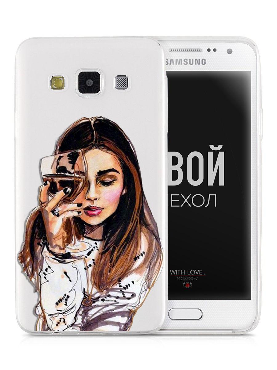 Чехол для сотового телефона With love. Moscow Art kit для Samsung Galaxy A3 (2015) аксессуар чехол samsung galaxy a3 2017 a320 with love moscow bud 6975
