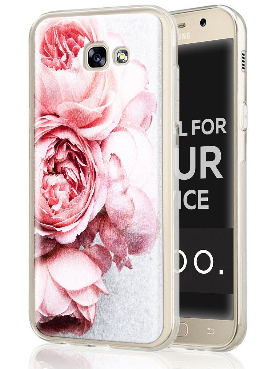 "Чехол для сотового телефона UVOO ""Art kit"" для Samsung Galaxy A3 (2017)"