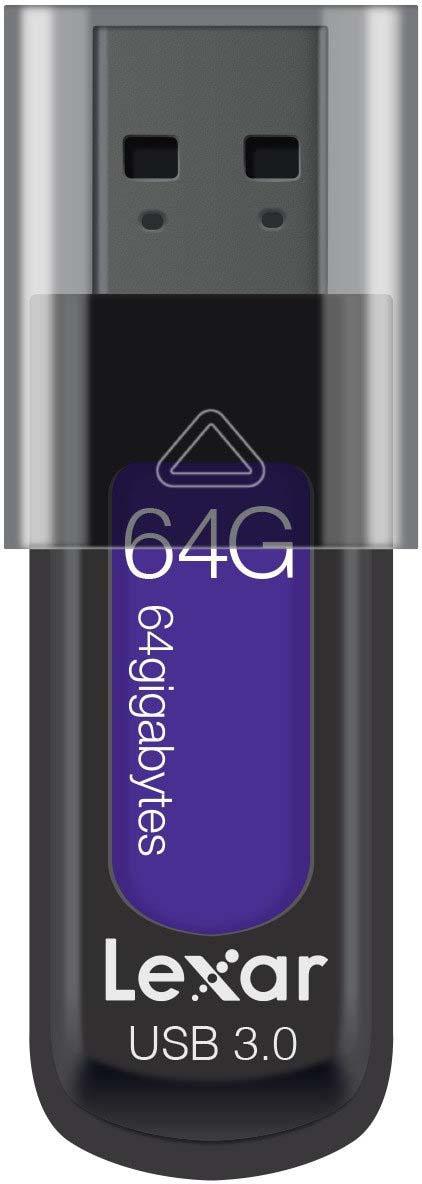 USB Флеш-накопитель Lexar JumpDrive S57 64GB, черный
