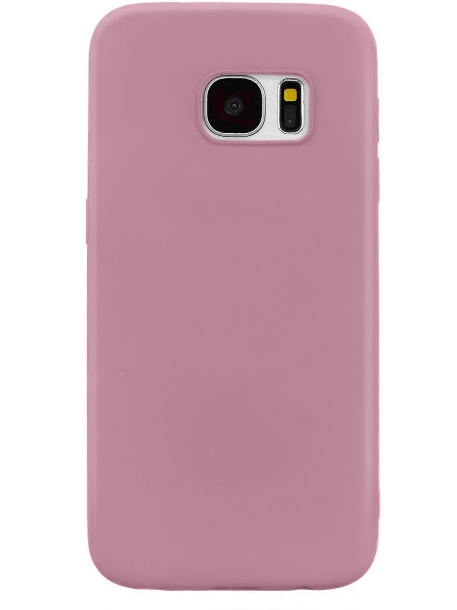Чехол для сотового телефона With Love. Moscow Mono для Samsung Galaxy S7, розовый