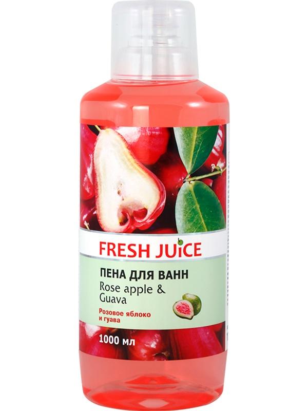 Пена для ванны Rose apple Guava 1000 мл пена д ванны блеск яблоко 1 л 12 шт 670129