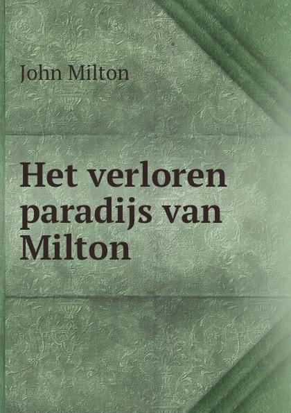 John Milton Het verloren paradijs van Milton