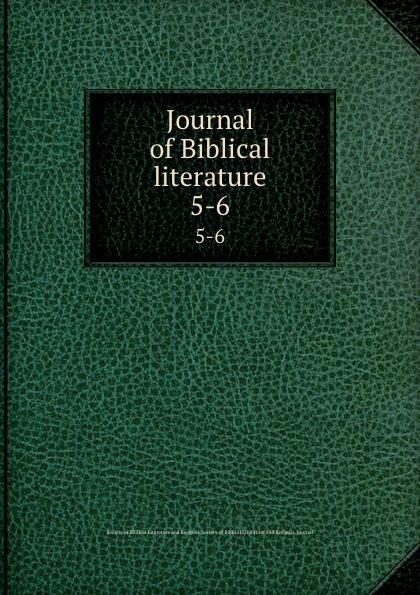 Journal of Biblical literature. 5-6 review of biblical literature 2016