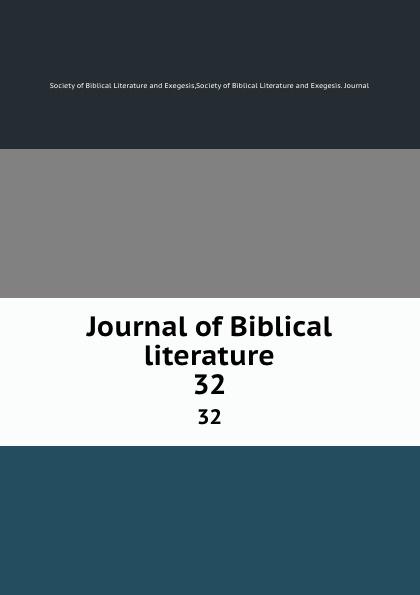 Journal of Biblical literature. 32 review of biblical literature 2016
