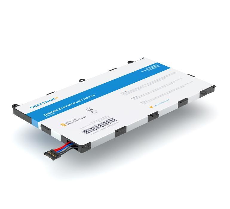 Аккумулятор для планшета Craftmann SP4960C3B для Samsung GT-P3100, GT-P3110, GT-P3113 Galaxy Tab 2 7.0, GT-P6200, GT-P6201, GT-P6220 Galaxy Tab 7.0 Plus, T869