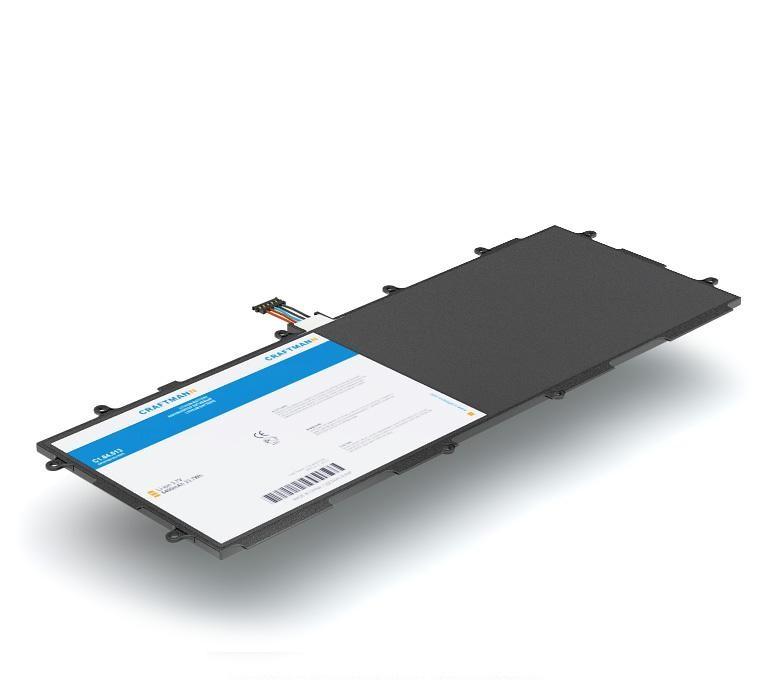 Аккумулятор для планшета Craftmann SP3676B1A(1S2P) для Samsung GT-P7500, GT-P7501, GT-P7510 Galaxy Tab 10.1, GT-N8000, GT-N8010, GT-N8013 Galaxy Note 10.1, GT-P5100, GT-P5110 Galaxy Tab 2 10.1 new black touch digitizer screen glass replacement for samsung galaxy tab 2 10 1 gt p5100 free shipping