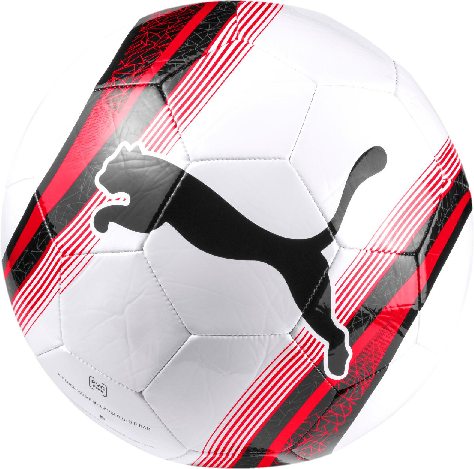 Мяч футбольный Puma Big Cat 3 Ball, 08304401, белый. Размер 5