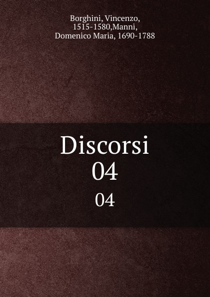 Discorsi. 04