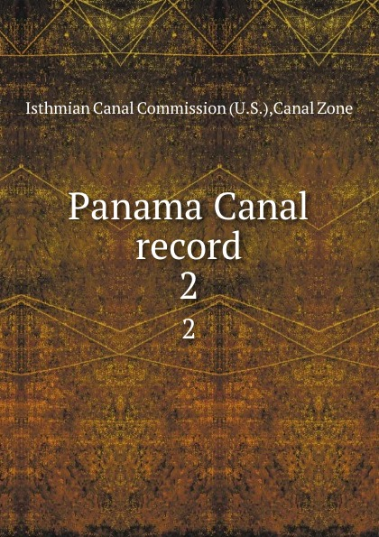 Panama Canal record. 2 root canal anatomy
