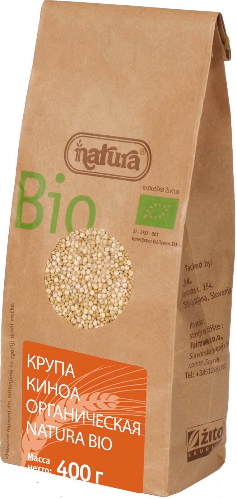 Zito Natura BioКрупа киноа органическая, 400 г Zito