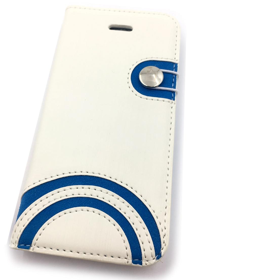 Чехол для сотового телефона Мобильная Мода iPhone 5C Чехол-книжка силиконовая с застежкой Baseus Exquisite Style, белый чехол книжка imobo lamborghini diablo для iphone 5c оранжевый