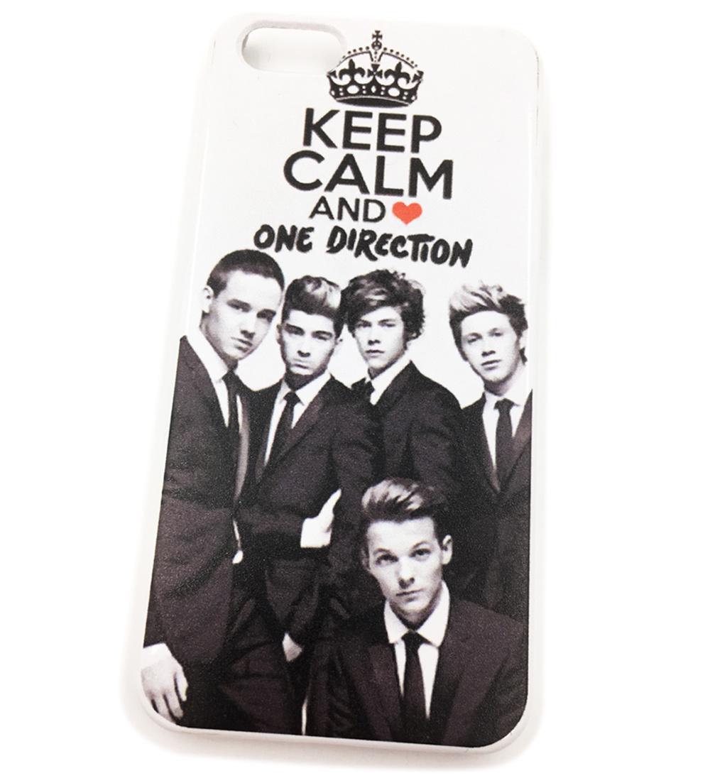 Чехол для сотового телефона Мобильная Мода iPhone 5/SE Накладка пластиковая с группой One Direction i love one direction