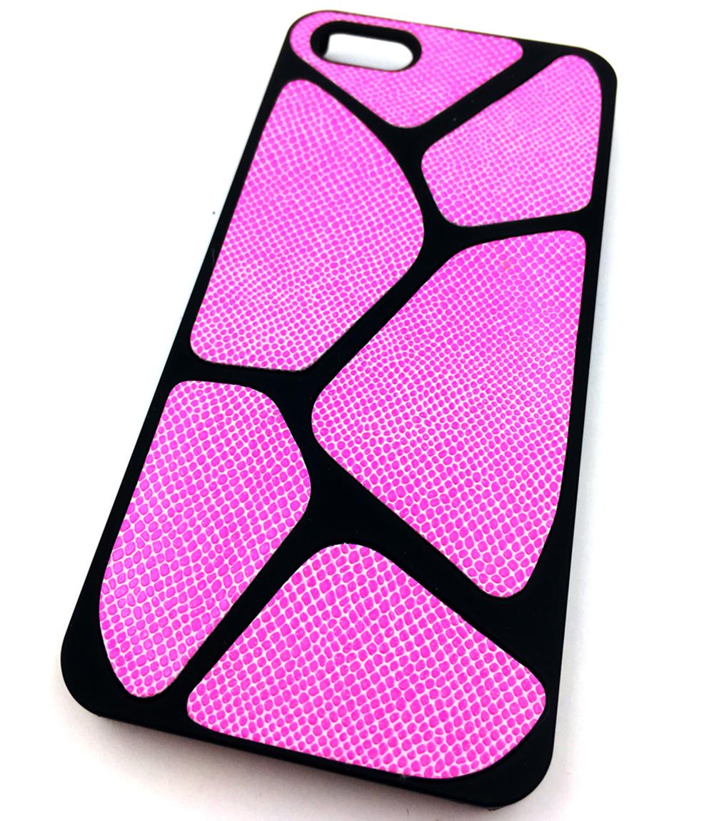 Чехол для сотового телефона Мобильная Мода iPhone 5/SE Накладка пластиковая с узором HQMC, розовый чехол для сотового телефона мобильная мода samsung s9 чехол книжка пластиковая под оригинал 1533 розовый