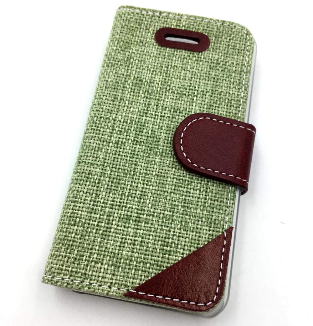 Чехол для сотового телефона Мобильная Мода iPhone 5C Чехол-книжка с тканевым покрытием Denim Jeans, зеленый raw hem ripped denim jeans