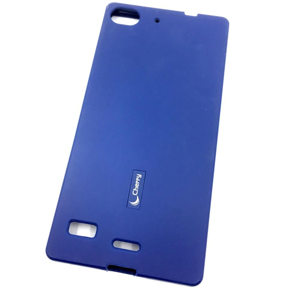 Чехол для сотового телефона Cherry Lenovo VIBE X2 Накладка резиновая с пленкой на экран, синий для lenovo vibe s1 lite s1la40 стекло экран протектор фильм для lenovo vibe s1 lite s1la40 стекло экран прот