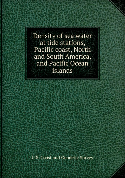 Density of sea water at tide stations, Pacific coast, North and South America, and Pacific Ocean islands sea tide print antislip flannel water absorb rug