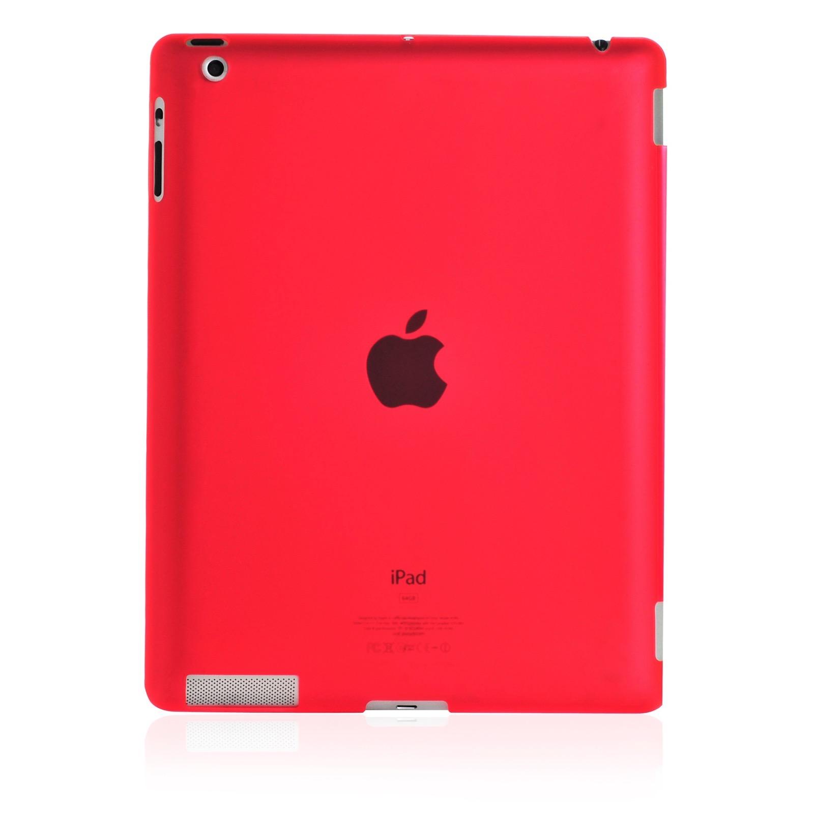 Чехол для планшета Gurdini накладка пластик 370025 Apple iPad 2/3/4, красный