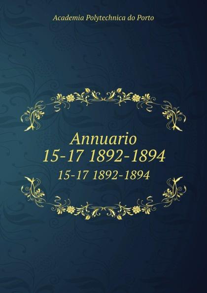 Annuario. 15-17 1892-1894