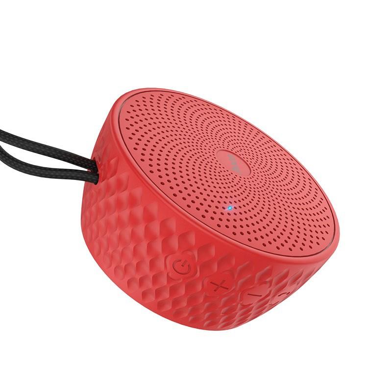 Беспроводная колонка Hoco Atom, красный беспроводная колонка markclub hoco tg 168 красный
