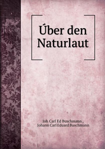 Joh Carl Buschmann Uber den Naturlaut johann carl buschmann uber die aztekischen ortsnamen