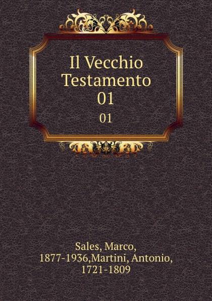 Marco Sales Il Vecchio Testamento. 01 diabaruch profeta vecchio testamento secondolavolgata tradotto in linguaitaliana con annotazioni dichiarto