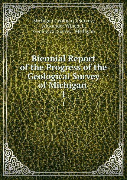 Michigan Geological Survey Biennial Report of the Progress of the Geological Survey of Michigan . 1