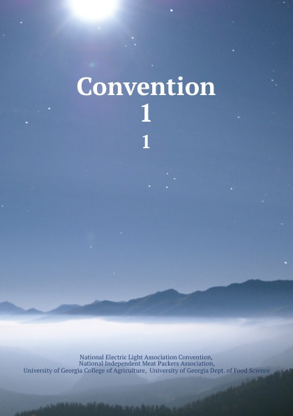 Convention. 1