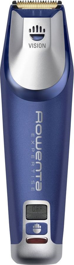 Триммер Rowenta, TN3450F0, синий, серый металлик