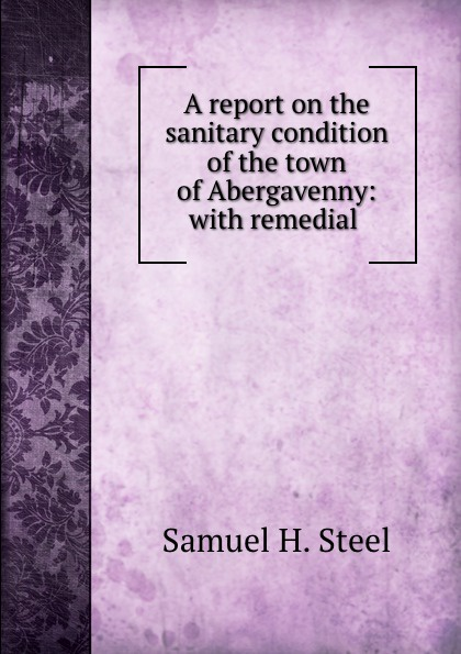 Samuel H. Steel A report on the sanitary condition of the town of Abergavenny: with remedial .