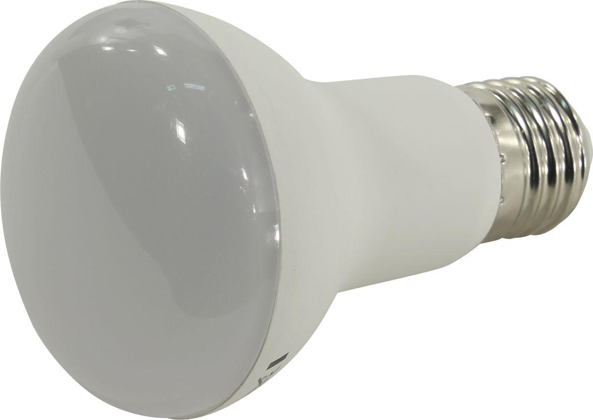 Лампочка SmartBuy светодиодная R63, теплый свет, цоколь E27, 3000 К, 8 Вт светодиодная лампа kosmos теплый свет цоколь e27 7w 220v lksm led7wr63e2730