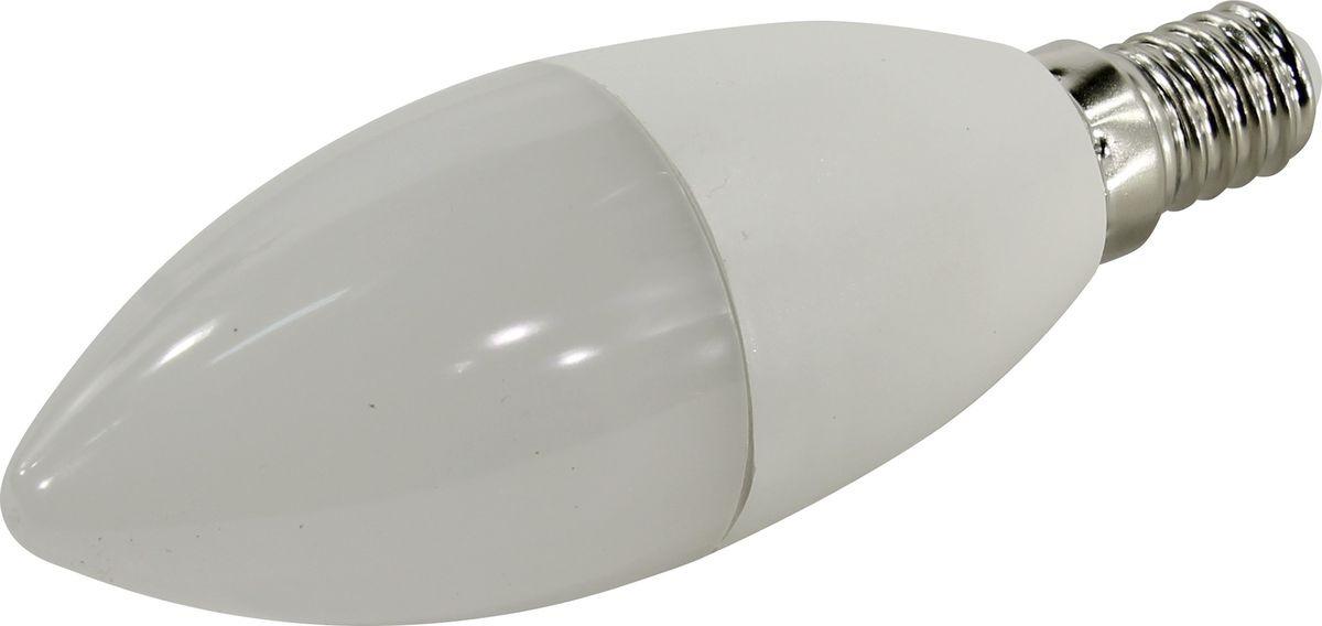цены Лампа светодиодная SmartBuy C37, холодный свет, цоколь E14, 4000 К, 9,5 Вт