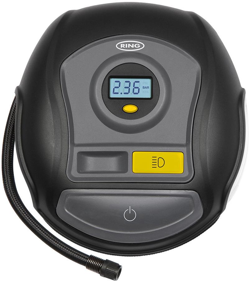 Автомобильный компрессор Ring Automotive, цифровой, RTC400, черный