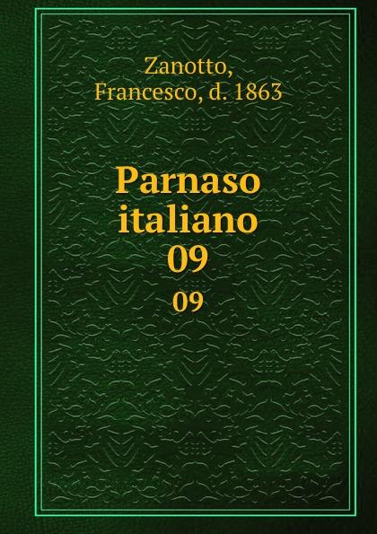 Francesco Zanotto Parnaso italiano. 09