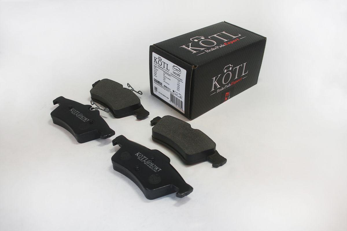 Тормозные колодки дисковые Kotl 1621KT тормозные колодки передние abs ford focus focus 98 07 37100