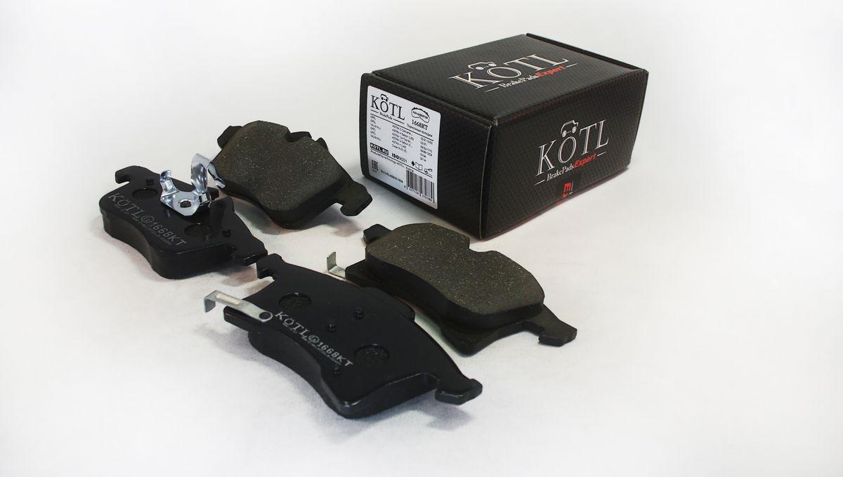 Тормозные колодки дисковые Kotl 1668KT цена