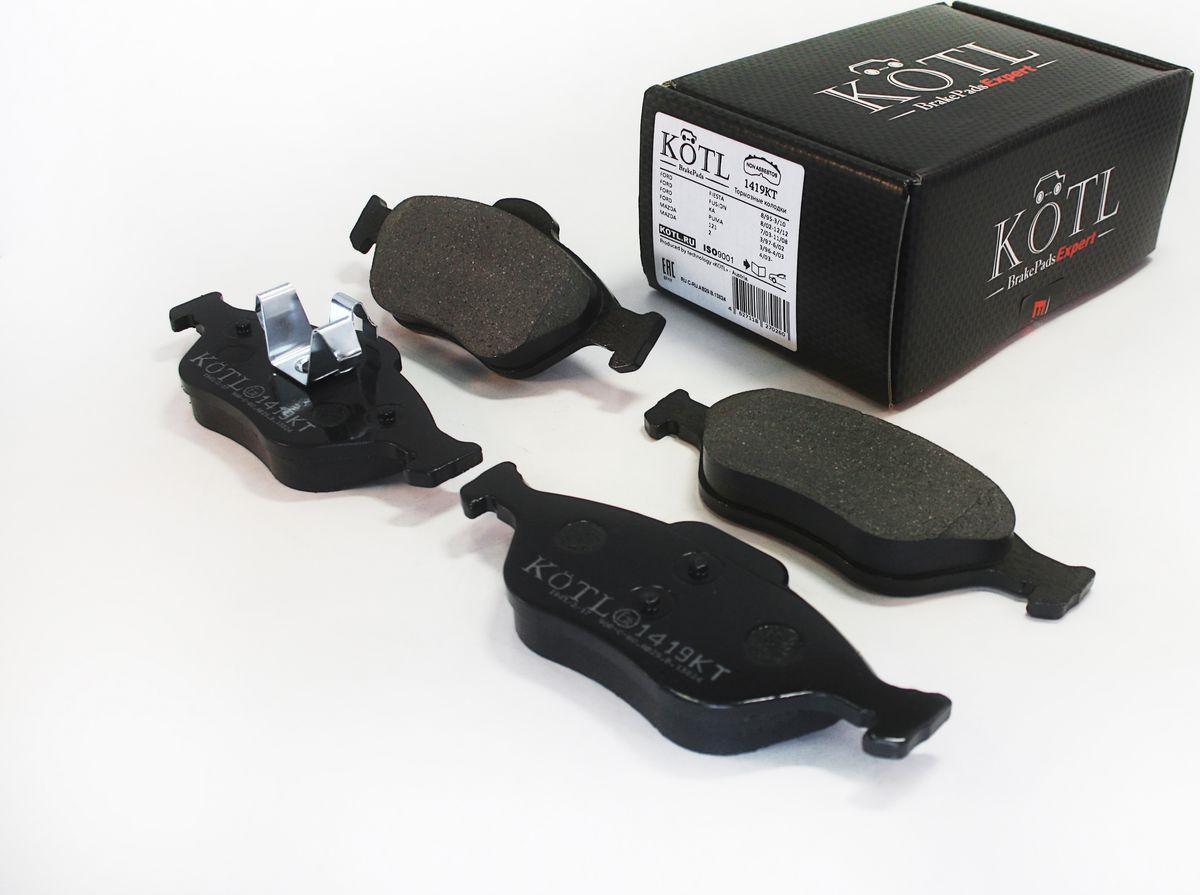 Тормозные колодки дисковые Kotl 1419KT тормозные колодки передние abs ford focus focus 98 07 37100