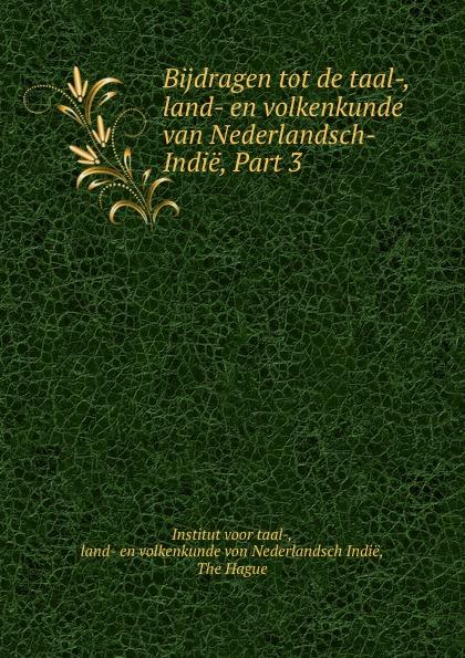 Institut voor taal- Bijdragen tot de taal-, land- en volkenkunde van Nederlandsch-Indie, Part 3 de russische taal