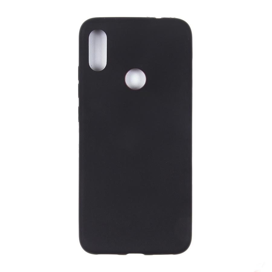купить Чехол для сотового телефона Чехол накладка ТПУ для Xiaomi Redmi Note 7, черный недорого