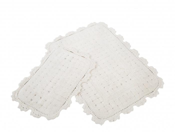 Набор ковриков для ванной IRYA MINA, кремовый
