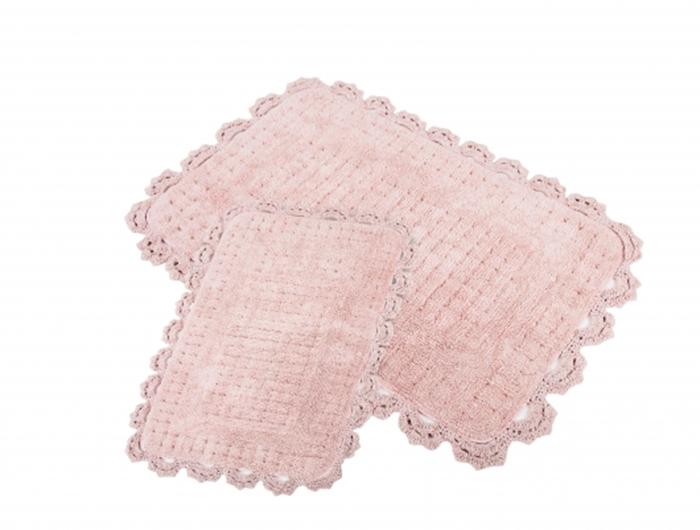 Набор ковриков для ванной IRYA MINA, розовый