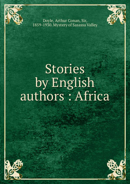 Doyle Arthur Conan Stories by English authors : Africa