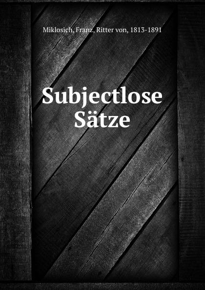 """Subjectlose Satze Braumller"""", 1883 год), созданный на основе электронной копии..."""